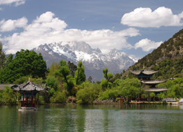 The Black Dragon Pool in Lijiang Yunnan