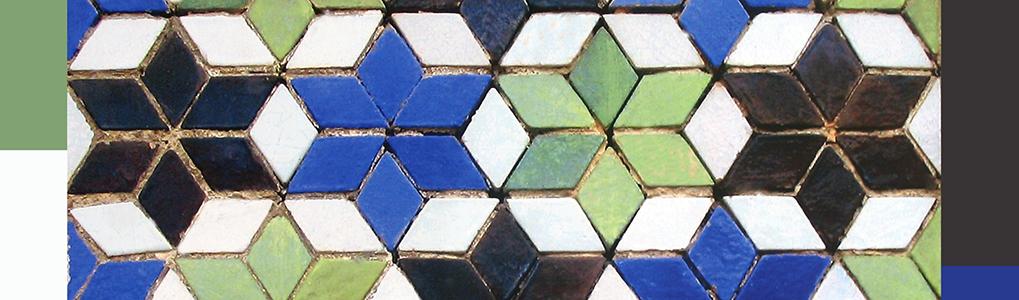 Spain Mosaic of Davids Star